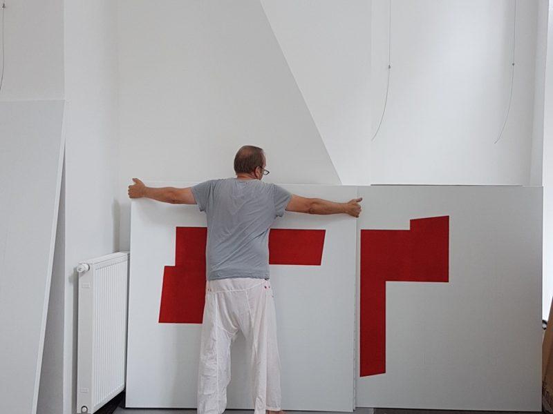 Atelierbesuch Reinhard Zich 2017